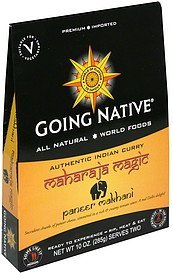 paneer makhani medium Going Native Nutrition info