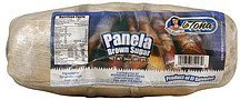 panela brown sugar La Tona Nutrition info