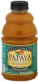 papaya creamed Healthmate Nutrition info