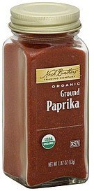 paprika organic, ground Nash Brothers Trading Company Nutrition info