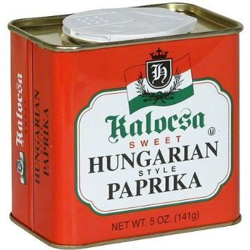 paprika sweet hungarian style Kalocsa Nutrition info