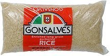 parboiled rice enriched long grain Gonsalves Nutrition info