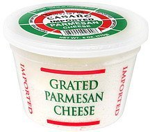parmesan cheese grated Casaro Nutrition info