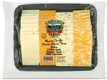 party cheese tray variety Cady Creek Farms Nutrition info