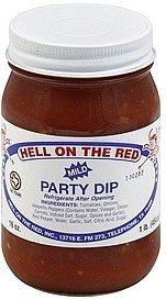 party dip mild Hell On The Red Nutrition info