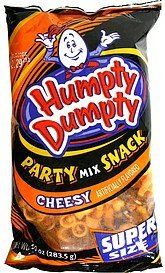 party mix snack cheesy Humpty Dumpty Nutrition info
