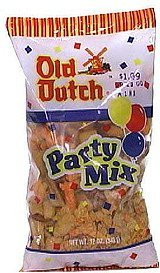 party mix Old Dutch Nutrition info