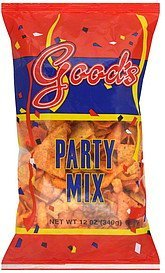 party mix Goods Nutrition info