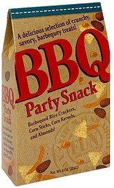 party snacks bbq Sunflower Food & Spice Company Nutrition info