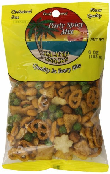 party spicy mix Island Snacks Nutrition info