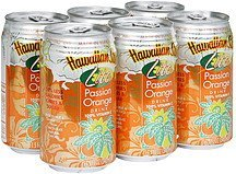 passion orange drink lite Hawaiian Sun Nutrition info
