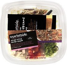 pasta salad asian style Marketside Nutrition info