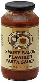 pasta sauce smoky bacon flavored Festin Nutrition info