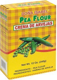 pea flour Dona Isabel Nutrition info