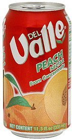 peach nectar Del Valle Nutrition info