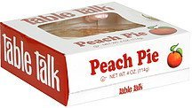 peach pie Table Talk Nutrition info