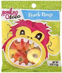 peach rings Monkey Loco Nutrition info