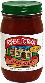 peach salsa medium Roberto's Nutrition info