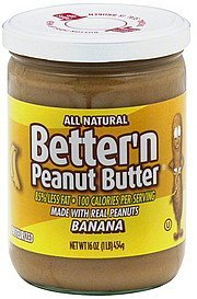 peanut butter banana Bettern Nutrition info