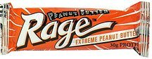peanut butter covered protein bar extreme peanut butter Peanut Butter Rage Nutrition info