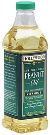 peanut oil enriched gold Hollywood Nutrition info
