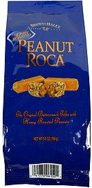 peanut roca honey roasted Brown & Haley Nutrition info