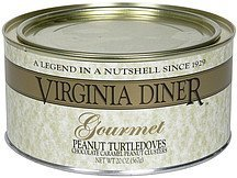 peanut turtledoves gourmet Virginia Diner Nutrition info