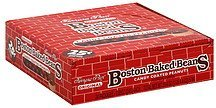 peanuts candy coated, original Boston Baked Beans Nutrition info