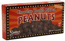 peanuts chocolate double dipped Summit Foods Nutrition info