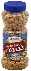 peanuts dry roasted, salted Hy Tops Nutrition info