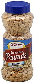 peanuts dry roasted, unsalted Hy Tops Nutrition info