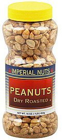 peanuts dry roasted Imperial Nuts Nutrition info