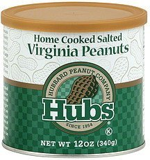 peanuts virginia, home cooked salted Hubs Nutrition info