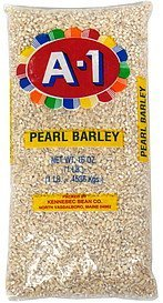pearl barley A-1 Nutrition info