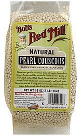 pearl couscous natural Bobs Red Mill Nutrition info