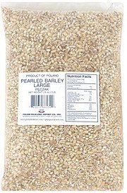 pearled barley large Polish Folklore Import Co. Nutrition info