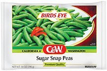 peas sugar snap C&W Nutrition info
