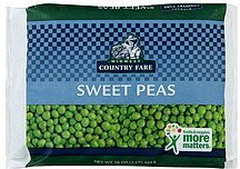 peas sweet Midwest Country Fare Nutrition info