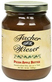 pecan apple butter Fischer & Wieser Nutrition info