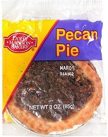 pecan pie Dolly Madison Bakery Nutrition info