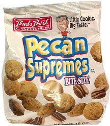 pecan supremes bite size Buds Best Cookies Nutrition info