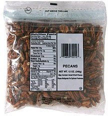 pecans The Green Valley Pecan Co. Nutrition info