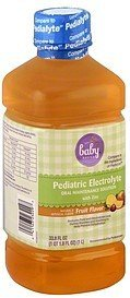 pediatric electrolyte fruit flavors Baby Basics Nutrition info