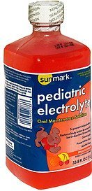 pediatric electrolyte oral maintenance solution fruit Sunmark Nutrition info