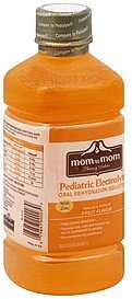 pediatric electrolyte oral rehydration solution, fruit flavor Mom to Mom Nutrition info