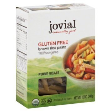 penne rigate brown rice Jovial Nutrition info