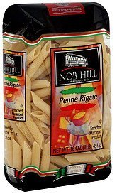 penne rigate Nob Hill Trading Co. Nutrition info