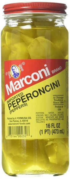 peperoncini Marconi Nutrition info