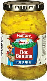 pepper rings hot banana Heifetz Nutrition info