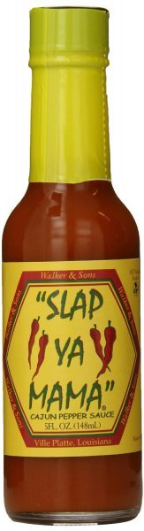 pepper sauce cajun Slap Ya Mama Nutrition info